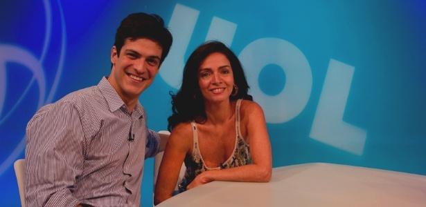 Bate-papo UOL com Mateus Solano e Claudia Ohana