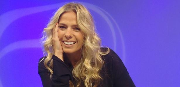 A apresentadora Adriane Galisteu