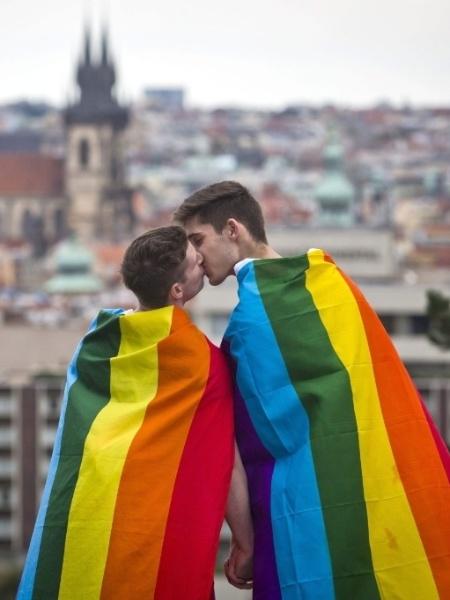 O Orgulho LGBT em São Paulo em 2015 - Matej Dvizna/Efe